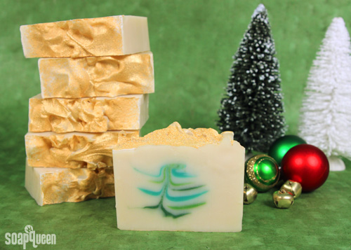 christmas tree soap as an eco-friendly gift