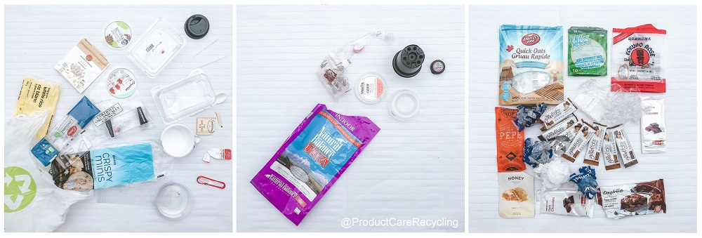 Plastic Free July 2019 Product Care Recycling Bin Audit Waste Audit