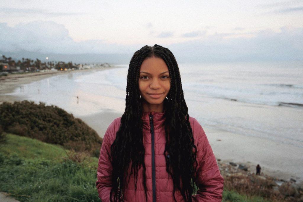 Black environmental influencer Leah Thomas