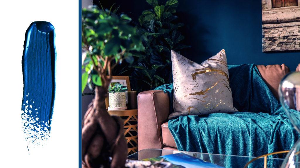 classic blue paint colour trends 2020