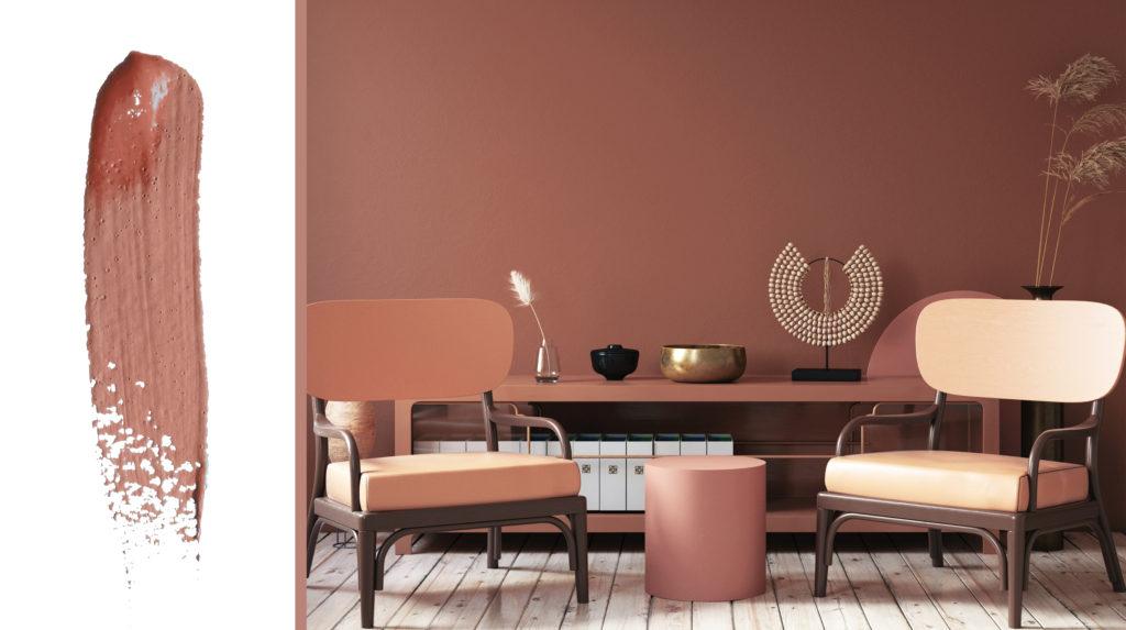 clay terracotta paint colour trends 2020