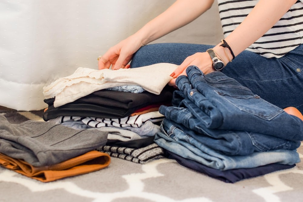 donating clothes sustainability for a green chinese newy year