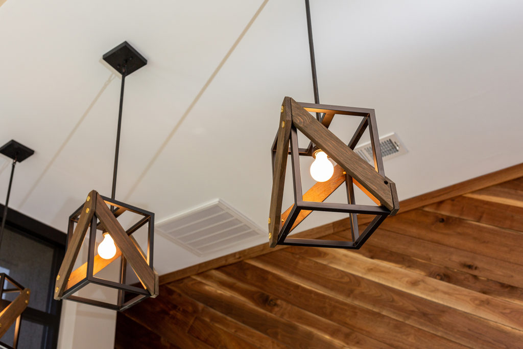 wooden light fixture rustic hygge 2021 lighting trend